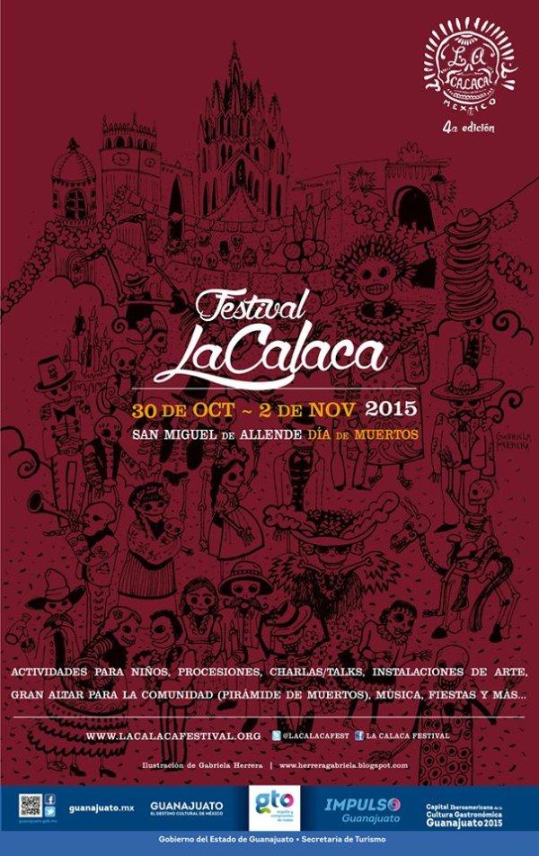 Festival en San mIguel de Allende, México. Día de los Muertos